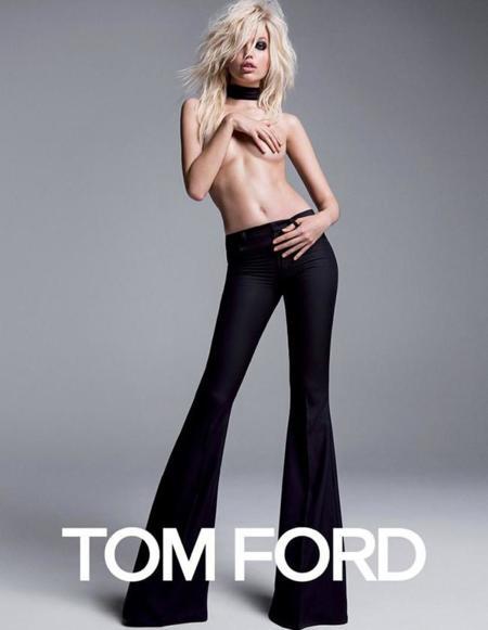 OMG! Daphne Groeneveld se desnuda para la campaña Primavera-Verano 2015 de Tom Ford