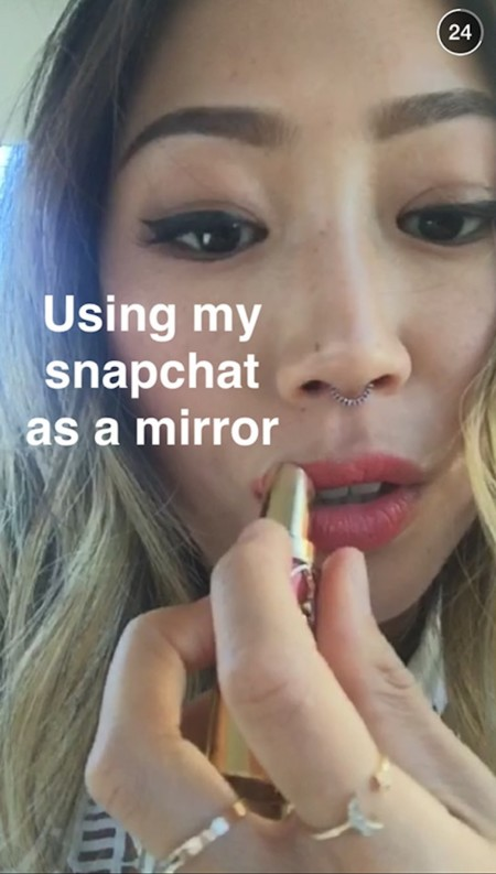 Song Of Style Snapchat