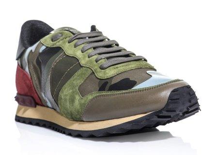 Zapatillas Trainers Camouflage para hombre de Valentino, ya tienen listas de espera