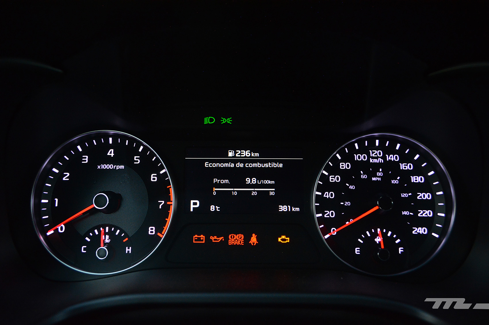 Foto de KIA Forte GT Hatchback (prueba) (16/23)