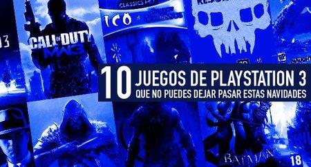 Diez juegos de PS3 que no puedes dejar pasar estas navidades