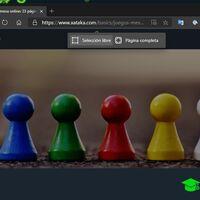 Cómo capturar una web completa en Microsoft Edge
