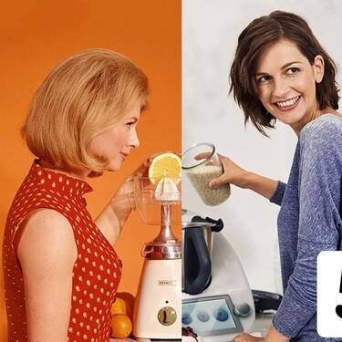 Thermomix celebra el 50 aniversario de su robot de cocina recreando la misma publicidad sexista, pero medio siglo después