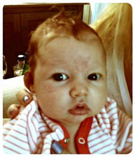 Jessica Simpson, una madre orgullosa más en las redes sociales