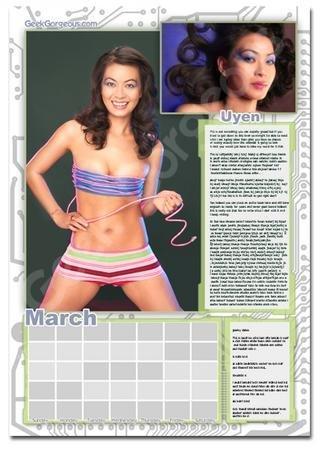 Calendario de chicas Geek