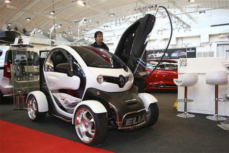 Más modificaciones para el Renault Twizy