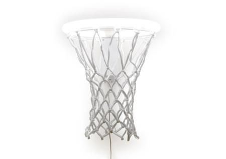 Lámpara canasta de baloncesto