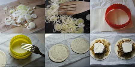 Paso a paso tartaletas de puerro y queso de cabra