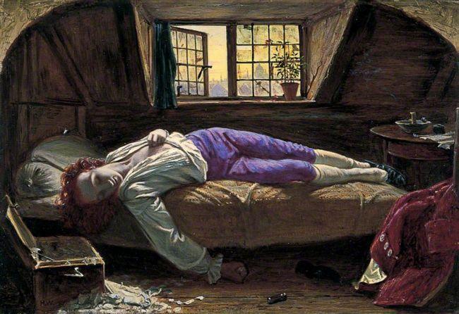 La muerte de Chatterton