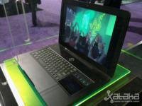 Razer Blade, el impresionante portátil para juegos, en vídeo