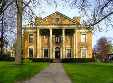 La avenida de las mansiones, en Buffalo