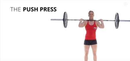 Push Press para trabajar algo más que tus hombros