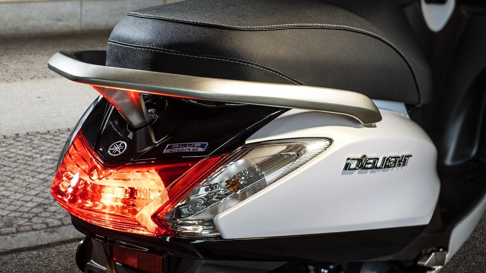 Yamaha D'elight 125 2021, prueba
