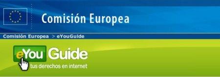 Guía de los derechos de los usuarios en internet de la Comisión Europea