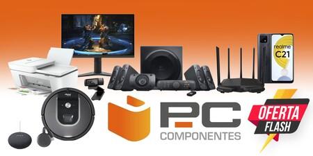 Ofertas flash en PcComponentes: monitores gaming, smartphones, impresoras, robots aspiradores, altavoces para PC y más a precios superrebajados este fin de semana