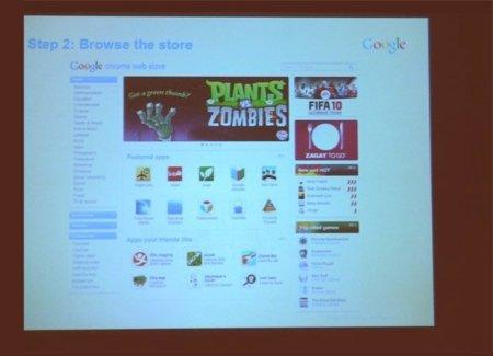 Primeras capturas de la Google Chrome Web Store, que estará lista en octubre