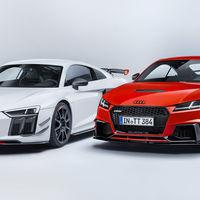 Audi Sport Performance Parts le inyecta más deportividad al R8 y TT
