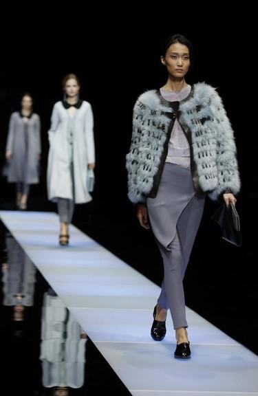 Tú también deberías llevar los pantalones, hazle caso a Giorgio Armani Otoño-Invierno 2015/2016