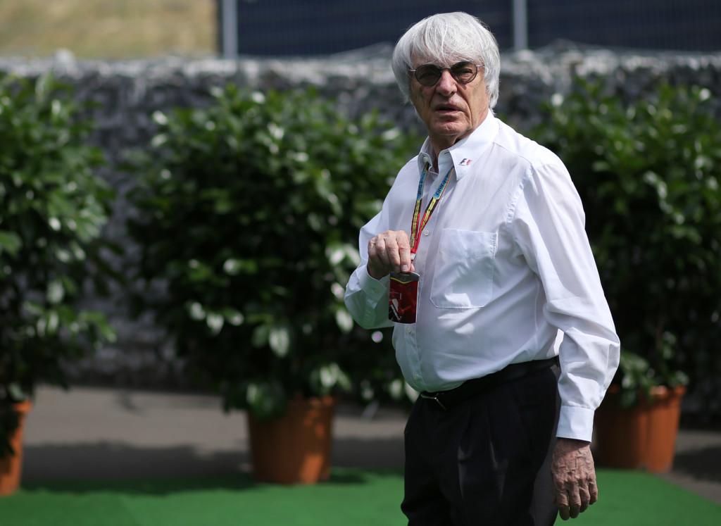 Bernie Ecclestone Formula 1 2014