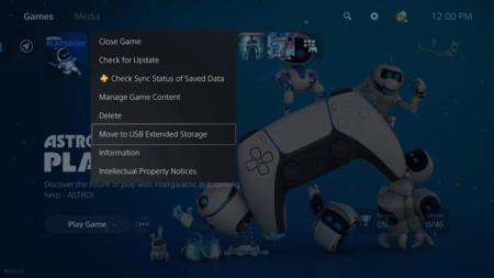 PS5 ya permitirá guardar juegos de nueva generación en discos duros externos en la primera gran actualización de la consola