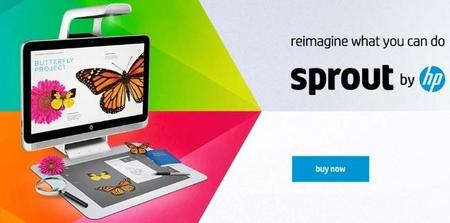 HP lanza el Sprout, un revolucionario PC táctil con proyector orientado a la creatividad
