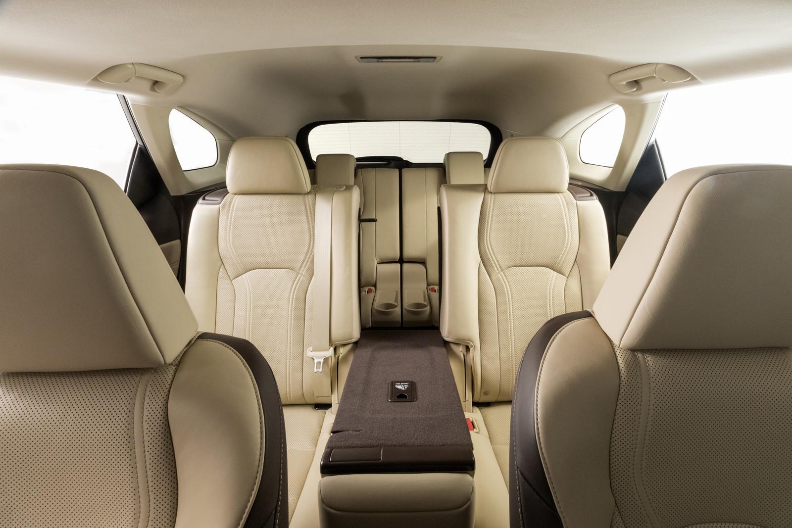 Foto de Lexus RX 450h L (presentación) (6/18)