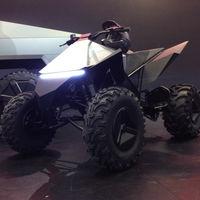 Tesla ha anunciado un quad eléctrico, aunque en realidad es un quad de Yamaha con estética futurista