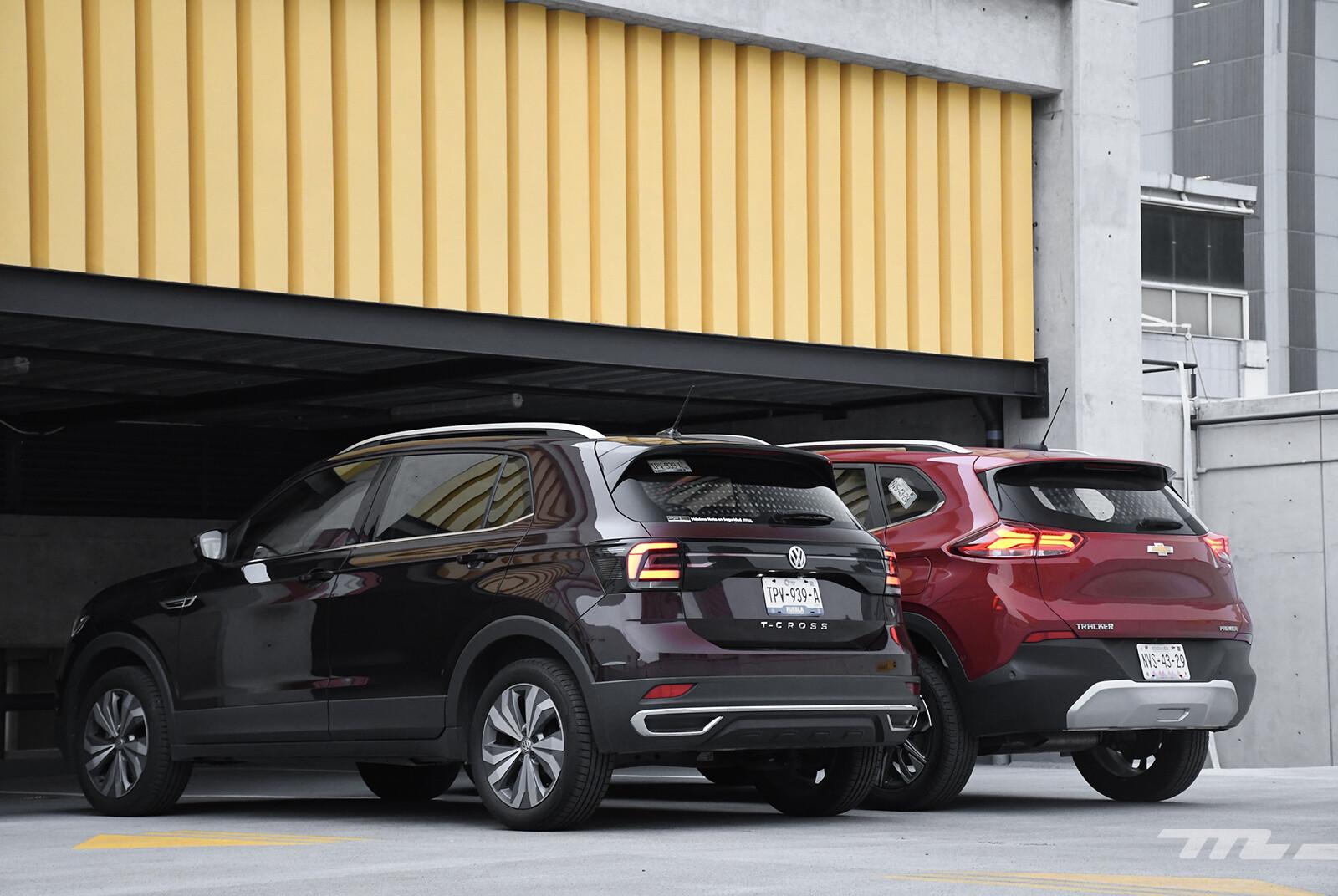 Foto de Chevrolet Tracker vs. Volkswagen T-Cross (comparativa) (6/29)