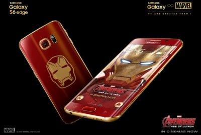 La versión de Iron Man del Galaxy S6 Edge es oficial, así luce