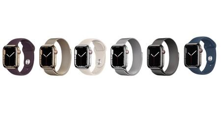 Apple Watch Series 7 acero