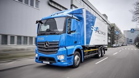Camión eléctrico Mercedes