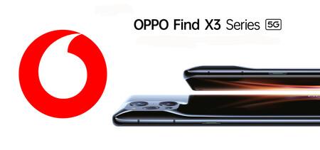 Los OPPO Find X3 Pro, Neo y Lite llegan a Vodafone: con pack de regalos y desde 7,50 euros al mes