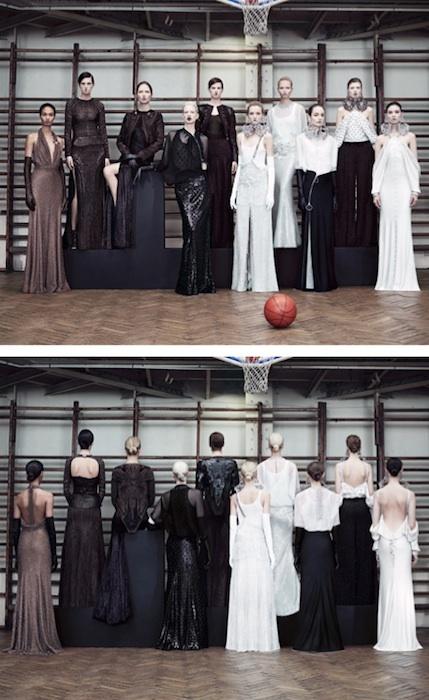 Givenchy Alta Costura Primavera-Verano 2012: por delante y por detrás