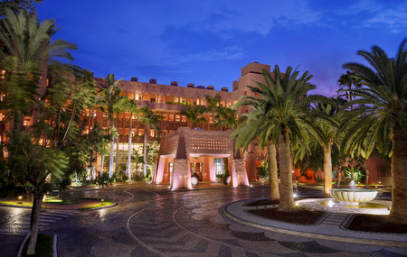 The Ritz Carlton Abama Entrance At Night