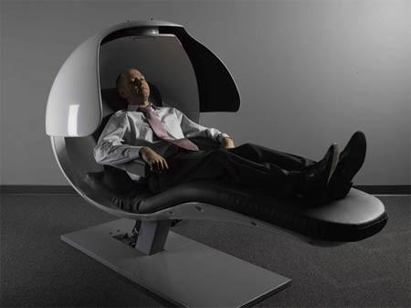 EnergyPod, relájate en la oficina