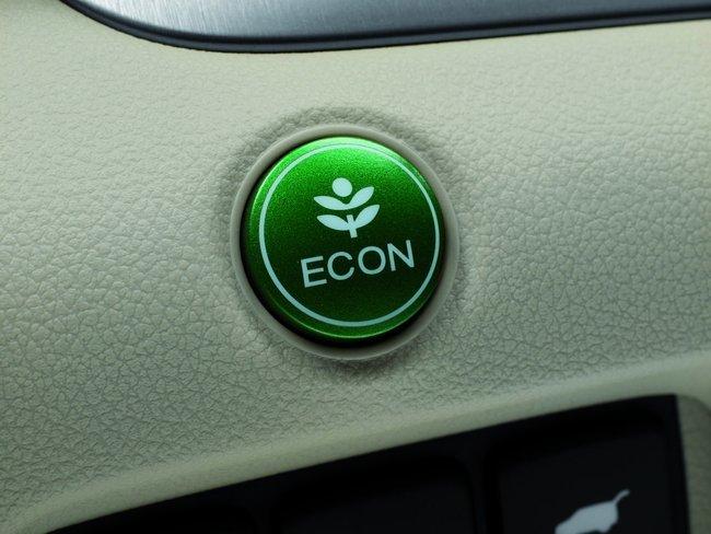 Botón Econ en Honda CR-V