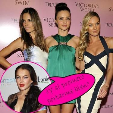 A Lindsay Lohan no la quieren entre los ángeles de Victoria's Secret