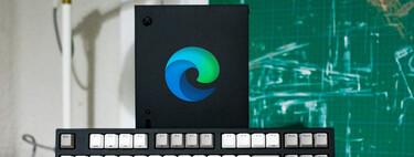 Hemos utilizado una Xbox Series X para trabajar como en un PC con el nuevo Microsoft Edge. Spoiler: sale mal