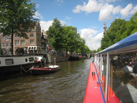 Un paseo en barco por Ámsterdam
