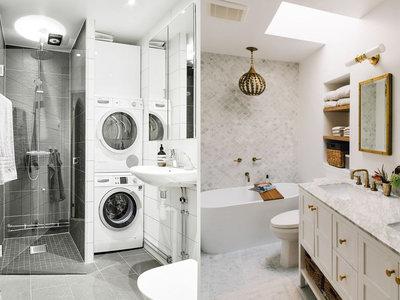 17 ideas para organizar exitosamente un baño pequeño en casa