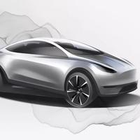 Este es el primer boceto del futuro coche eléctrico de Tesla: compacto y hecho en China para todo el mundo