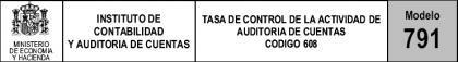 Nuevo modelo para las tasas de auditoría de cuentas