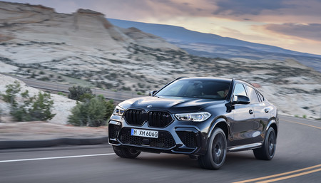 Nuevos BMW X6 M y X6 M Competition: inyección de potencia para el SUV coupé, con hasta 625 CV y 750 Nm