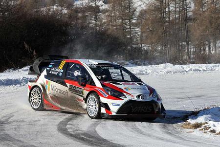 Toyota Yaris WRC en el pasado Rally de Montecarlo