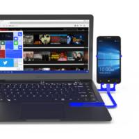 Mirabook, un portátil esclavo de 250 dólares para fundirlo con tu smartphone