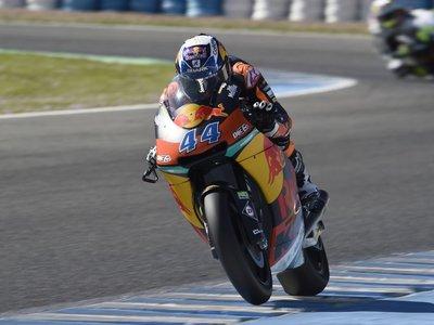 En Moto2 KTM no teme a Kalex y lo ha demostrado en los IRTA de Jerez
