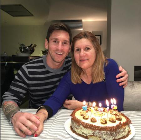 Cumple Madre Messi