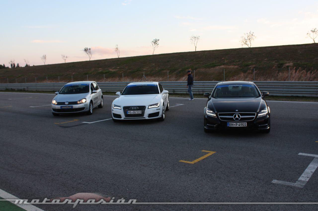 Foto de Goodyear Eagle F1: Audi TT RS, Audi A7 y Mercedes CLS (43/79)