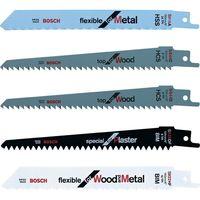 Set de cinco sierras para madera, metal y yeso Bosch para KEO por 13,08 euros en Amazon