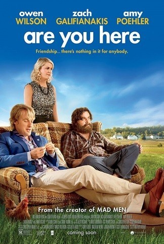 'Are You Here', tráiler y cartel de la ópera prima de Matthew Weiner
